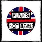 PUNKS NOT DEAD: Flag kitűző