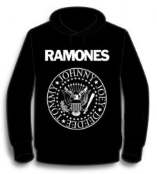 KAPUCNIS PULÓVER: RAMONES - Logo  (BEBÚJÓS-GILDAN) (RENDELÉSRE)