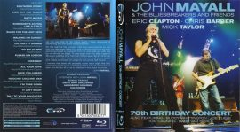 JOHN MAYALL & THE BLUESBREAKERS AND FRIENDS: 70 TH BIRTHDAY CONCERT  DVD