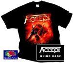 ACCEPT: Blind Rage póló  (RENDELÉSRE)