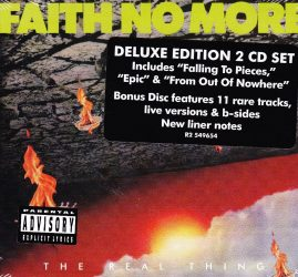 FAITH NO MORE: THE REAL THING   Deluxe edition 2CD set