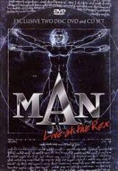 MAN: LIVE AT THE REX  (DVD+CD)