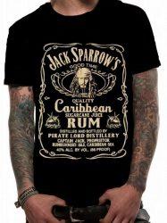 JACK SPARROW Rum Time  póló   (RENDELÉSRE!)