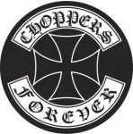 Choppers 3. kis felvarró  (hímzett)
