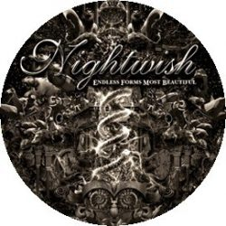NIGHTWISH: Endless forms...kitűző