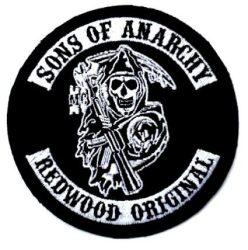 Sons of anarchy 1. kis felvarró (hímzett) (RENDELÉSRE)