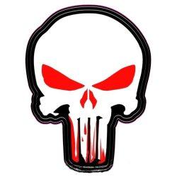 Pusztító logo (hímzett)