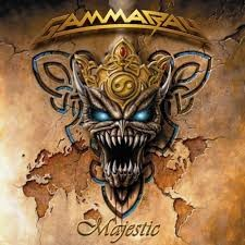 GAMMARAY: MAJESTIC CD