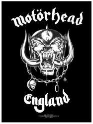 MOTORHEAD: England felvarró (7x9,5 cm)