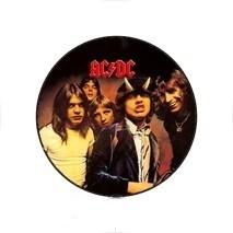 AC/DC 2. kitűző