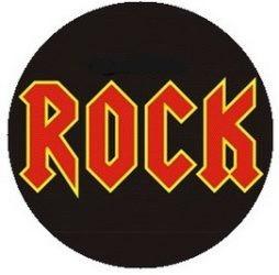 ROCK kitűző