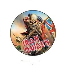 IRON MAIDEN 4. Trooper kitűző