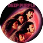 DEEP PURPLE: Fireball  kitűző