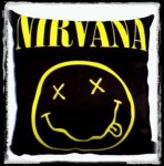 NIRVANA: Smiley párna
