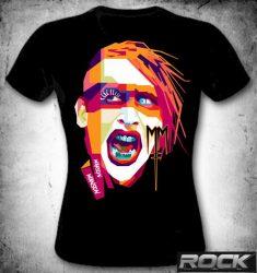 M. MANSON: Eagle  női trikó