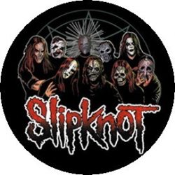 SLIPKNOT:Group kitűző
