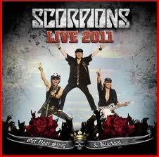 SCORPIONS: LIVE 2011 CD