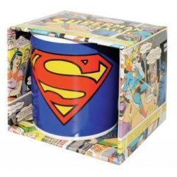 SUPERMAN: Logo bögre (RENDELÉSRE)