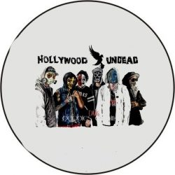 HOLLYWOOD UNDEAD 1. kitűző