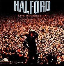 HALFORD: LIVE INSURRECTION   2CD
