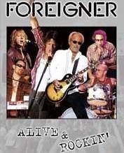 FOREIGNER: ALIVE & ROCKIN (CD+DVD)