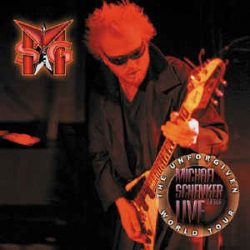 THE MICHAEL SCHENKER GROUP: LIVE THE UNFORGIVEN WORLD TOUR - Tour '99    (2CD)