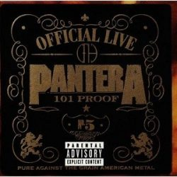 PANTERA: OFFICIAL LIVE  CD