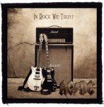 AC/DC: In rock we...  kis felvarró  (10x10 cm)