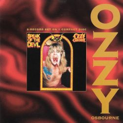 OZZY OSBOURNE: SPEAK OF THE DEVIL   CD