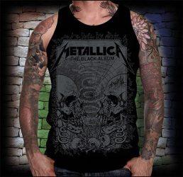 METALLICA:  Black  férfi trikó  (RENDELÉSRE!)