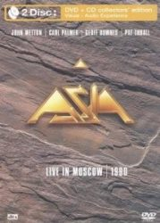 ASIA: LIVE IN MOSCOW 1990  (DVD+CD)
