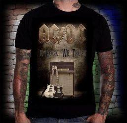 AC/DC: In Rock We Trust  póló
