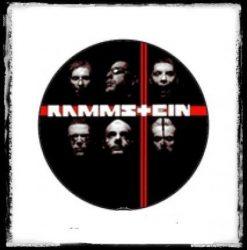RAMMSTEIN 2. kitűző