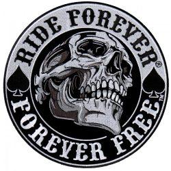 Ride forever kis felvarró  (hímzett)