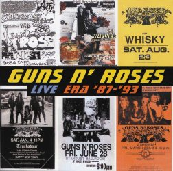 GUNS N' ROSES: THE BEST OF GUNS N' ROSES LIVE...'87-'93   2CD