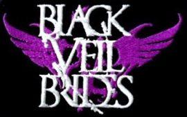 BLACK VEIL BRIDES: Logó   kis felvarró (10x10 cm) (hímzett)