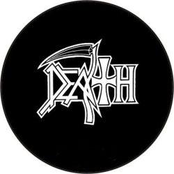 DEATH 1. kitűző