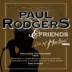 PAUL RODGERS & FRIENDS:  LIVE AT MONTREUX, 1994   CD