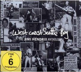 JIMI HENDRIX: THE J. HENDRIX ANTHOLOGY - West coast Seattle Boy CD + DVD