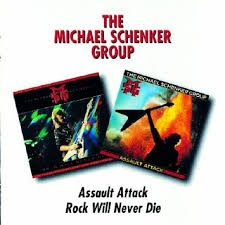 THE MICHAEL SCHENKER GROUP: ASSAULT ATTACK/ROCK WILL NEVER DIE (REMASTERED FROM THE ORIGINAL MASTERTAPES) (2CD)