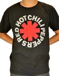 RED HOT CHILI PEPPERS: Logo 2. póló