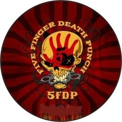 FIVE FINGER DEATH PUNCH 2. kitűző