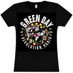 GREEN DAY: Revolution...2.  női póló