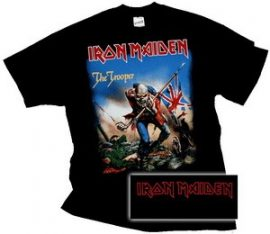 IRON MAIDEN: The Trooper Classic póló