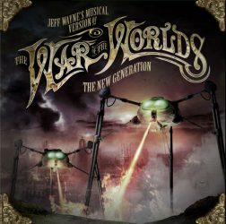 THE WAR OF THE WORLDS - THE NEW GENERATION (Jeff Wayne's Musical Version)  2CD