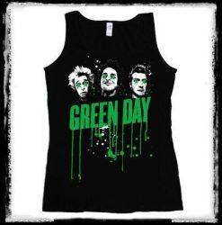 GREEN DAY: Drips női trikó  (RENDELÉSRE)