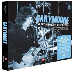 GARY MOORE & THE MIDNIGHT BLUES BAND: LIVE IN CONCERT AT THE 1990 MONTREAUX FESTIVAL  CD+DVD