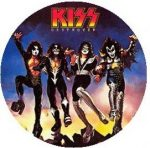 KISS: Destroyer kitűző