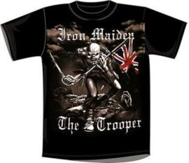 IRON MAIDEN: Trooper Vintage póló