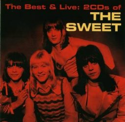 THE SWEET: The Best & Live  2CD